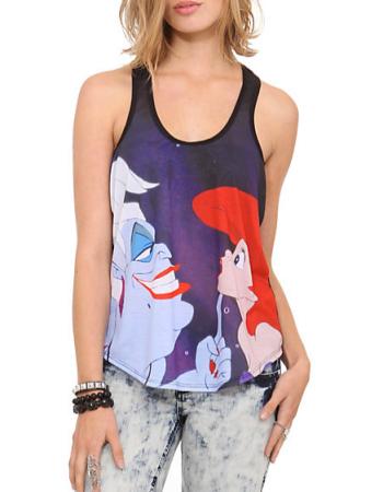 Ursula and Ariel tank